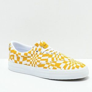 Diamond Supply Co. Avenue QS Gold & White Shoes